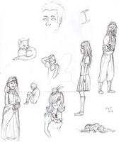 Sketches for Aug 2 2013 by Anomalies13