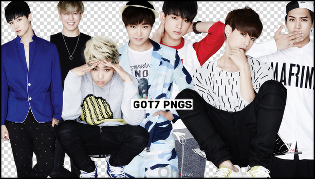 #GOT7 PNG PACK by Aomisaki