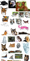 Iscribble Dump by Silverwuff