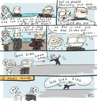 The Witcher 3, doodles 254 by Ayej