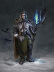 Northern Mage by saurivaa