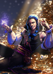 Commission: Vyr the Elf by jadenwithwings