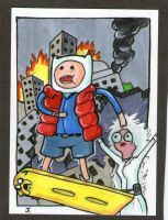 Back to the Finnture sketch card by johnnyism