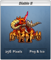 Diablo II B Vista Ready Icon by Th3-ProphetMan