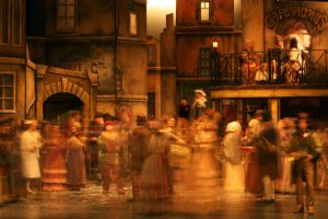 old ghosts - 'La Boheme' by MistyTableau