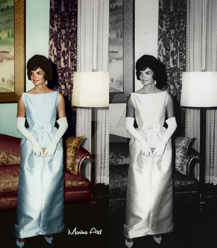 Jacqueline Kennedy Onassis by mrmr96
