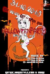 Halloweenparty by Makunia89