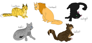 so many drama cats by Spottedfire23