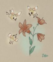 A Cutiefly Family by BluHiroo