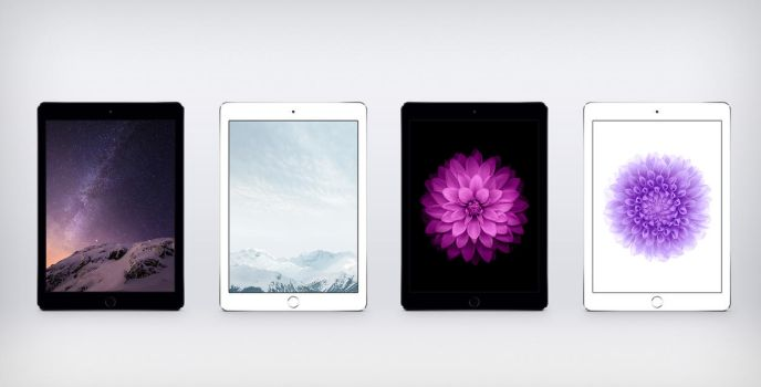 iOS 8 GM Wallpapers For iPad by JasonZigrino