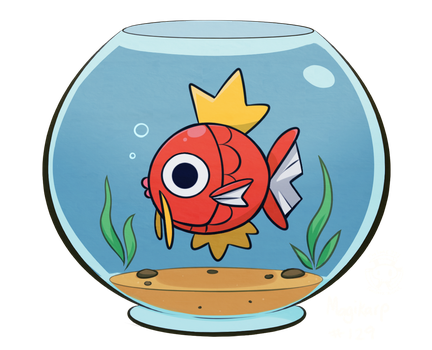 Little Magikarp by Twime777
