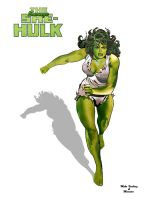 The Savage She-Hulk by Mike Vosburg (01) by marston004