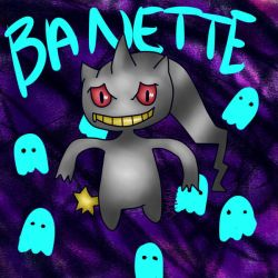 Banette (Digital) by charredcas