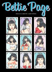 Bettie Page 1 by Elvatron
