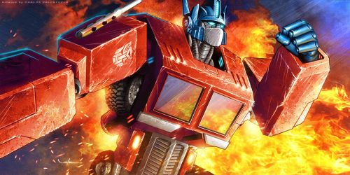 Optimus Prime by CValenzuela
