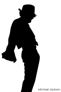 rethname 182 58 michael jackson silhouette by munchester2cool