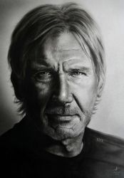 Harrison FORD by miualpainter