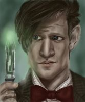 The 11th Doctor by pirateSME