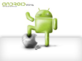 Android Wins Wallpaper by AShinati