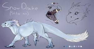 [D.I] Snow Drake 2017 Concept by Mollish