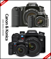 Canon and Konica icon for Mac by susumu-Express
