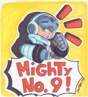 Mighty No. 9! by SLiDER-chan