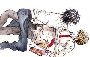 L.Lawliet. Bring it on by KT-ExReplica