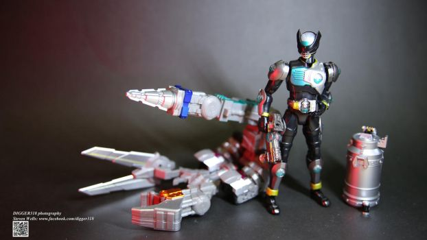 SH Figuarts Kamen Rider Birth + Claws Set by Digger318