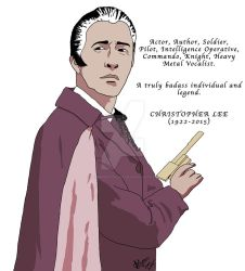 Christopher Lee Tribute. by browncoat4life