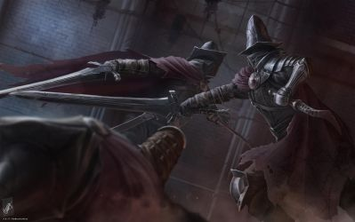 Abyss Watchers by TheMaestroNoob