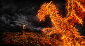 Challenge Of Fire by igreeny