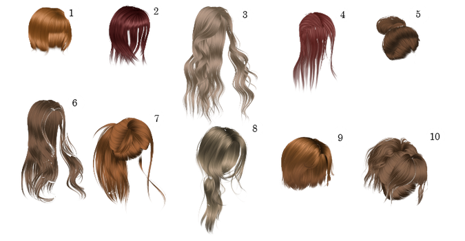 [MMD] HUGE HAIR PACK [+DL] THANKS FOR 100 WATCHERS by Sims3Ripper