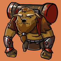 Dota Fanart v2 - Earthshaker by KidneyShake