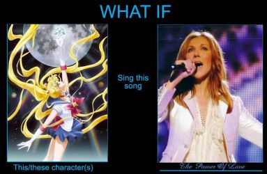 Sailor Moon sings The Power of Love by artdog22