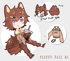 [CLOSE] Adopt - Fluffy Tail 01 [SET PRICE] by sayremin