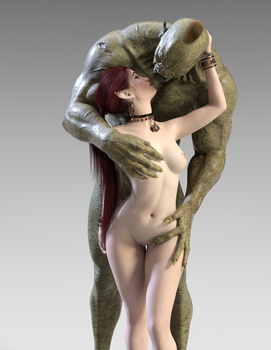 Elf and Orc by paviesso