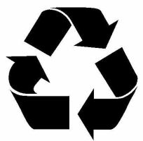Recycle stencil by killingspr