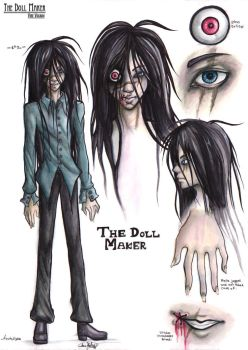 The Doll Maker: Reference Sheet by Ayato-Inverse