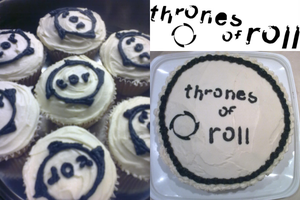 Throens of Roll Cake by Dark-Queen-of-Death
