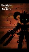 Fnaf 6 freak show baby wallpaper by GareBearArt1