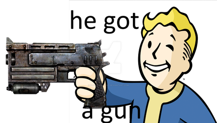 I wanna be called vault MAN not vault boy by OrangeContent