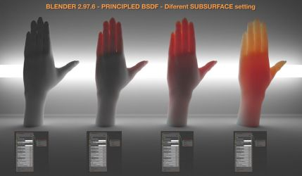 Hands - PRINCIPLED BSDF by anul147