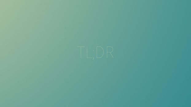 TLDR Minimal Light Wallpaper 8K by elite001mm