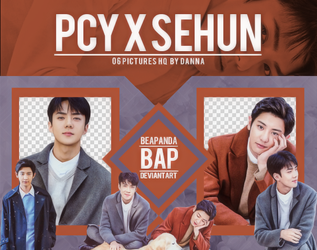 Pack Png 1179 // Chanyeol X Sehun (EXO) by BEAPANDA