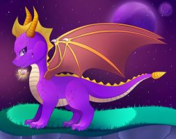 Spyro the Legend by Konoei-Kreations