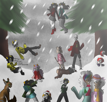 Merry Christmas! by Gh0stys