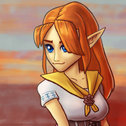 #ZeldaChallenge - Malon - Ocarina of Time by InAmberClad