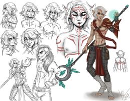 Elf Mage Haseo Reference by NatsumeWolf