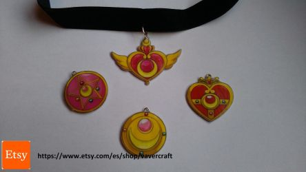 Sailor Moon Necklaces Choker by Vavercraft