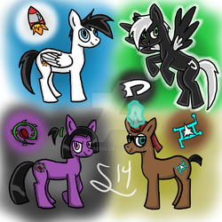 #PonyfiEverything :D by PhantomS14
